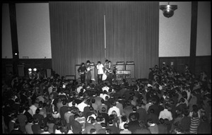 Thumbnail of Winter Carnival: The Buckinghams on stage at the Student Union, UMass Amherst