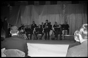 Thumbnail of Winter Carnival: NBC Orchestra performing with the Johnny Carson Show, Curry Hicks             Cage, UMass Amherst