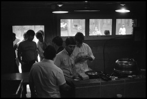 Thumbnail of JFK Lower (UMass Amherst dormitory) picnic at Look Park Beer room