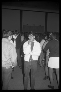 Thumbnail of Students at a dance in the Student Union Ballroom (sponsored by JFK Lower (dorm), UMass Amherst