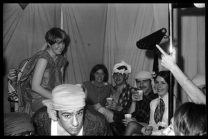 Thumbnail of Bean's Arabian party, Kennedy Tower 605 (Southwest Residential Area), ' UMass Amherst Maureen MacNamara, Harry Berijick, Linda Low, Dave Saulter, Jack Lowney,             Sheila O'Donnel