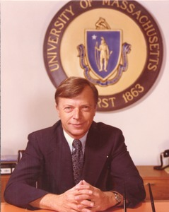 Thumbnail of David C. Knapp seated at desk