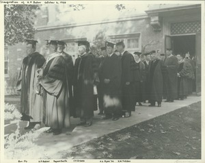Thumbnail of Hugh P. Baker and his inaugural procession