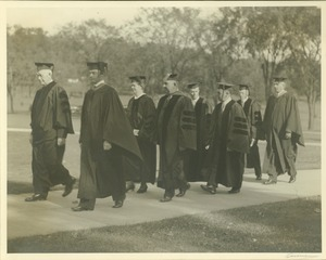 Thumbnail of Board of Trustees at Commencement