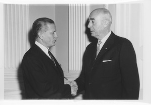 Thumbnail of John J. Maginnis with John A. Volpe