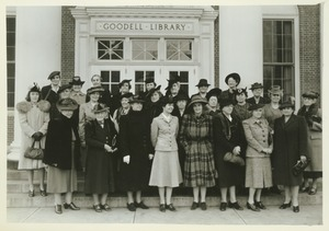Thumbnail of Advisory Council of Women standing outdoors.