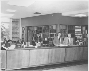 Thumbnail of Reference desk in Goodell addition
