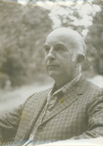 Thumbnail of Walker W. Gibson sitting outdoors