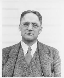 Thumbnail of Harold M. Gore standing outdoors