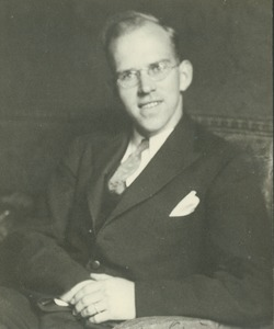 Thumbnail of Francis P. Griffiths sitting indoors