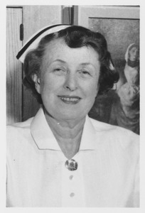 Thumbnail of Mary Ann Maher in nurse's uniform and cap