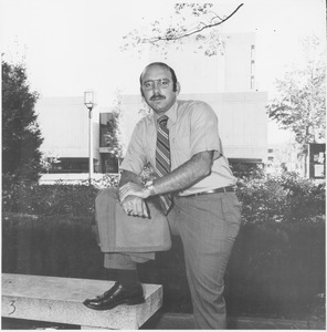 Thumbnail of Arthur E. Petrosemolo standing outside