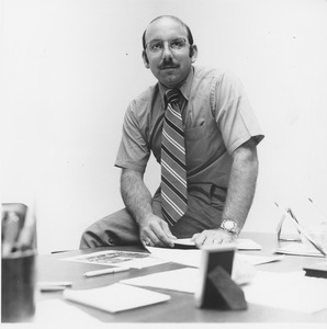 Thumbnail of Arthur E. Petrosemolo at his desk