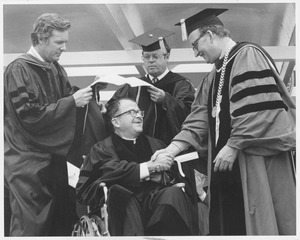 Thumbnail of Msgr. David J. Power at graduation