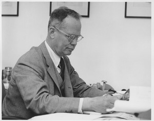 Thumbnail of Lamar Soutter in his office