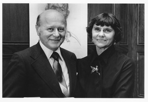 Thumbnail of Henry Koffler standing with Bette Swados