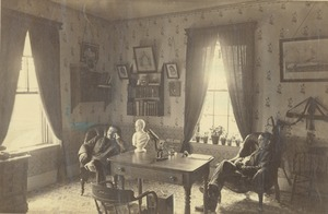 Thumbnail of C. O. Lovell and H. B. Emerson sitting indoors