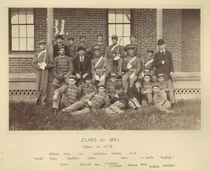 Thumbnail of Class of 1881 in front of North College