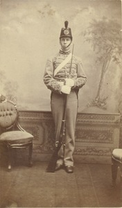 Thumbnail of Class of 1882 unidentified man in military dress