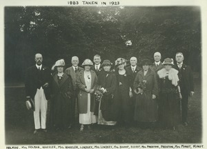 Thumbnail of Class of 1883 at 40th reunion
