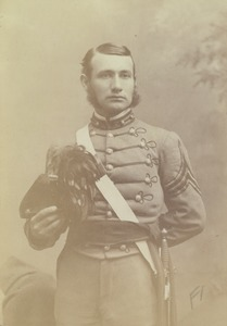 Thumbnail of Joseph B. Lindsey in military dress