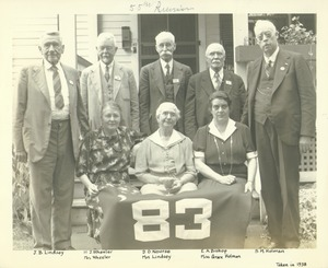 Thumbnail of Class of 1883 at 55th reunion