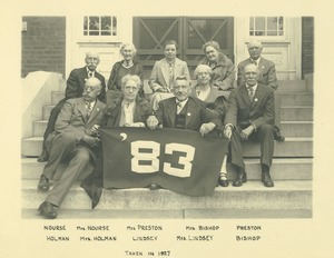 Thumbnail of Class of 1883 at 45th reunion