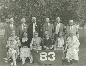 Thumbnail of Class of 1883 at 50th reunion