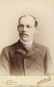 Thumbnail of Jonathen E. Holt, from the class of 1888