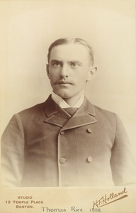Thumbnail of Thomas Rice, class of 1888