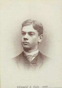 Thumbnail of Edward J. Dole, class of 1888