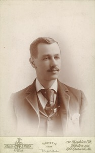 Thumbnail of Alvertus J. Morse, class of 1894