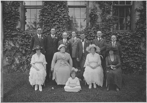 Thumbnail of Class of 1907 at 25th reunion