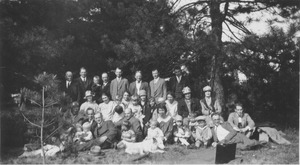 Thumbnail of Class of 1913 reunion at Forest Park