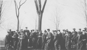 Thumbnail of Class of 1913 graduation