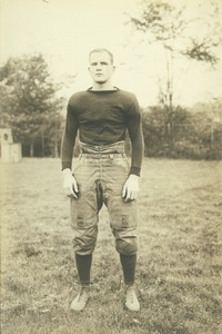 Thumbnail of Francis J. Cormier in football uniform