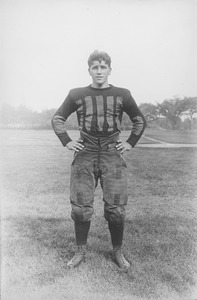 Thumbnail of Laurence L. Jones in football uniform
