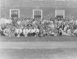 Thumbnail of Class of 1926 pose for 25th reunion