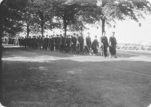 Thumbnail of Class of 1931 graduation parade