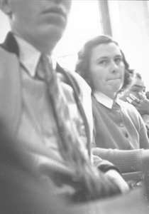 Thumbnail of Barbara Bemis listening in a classroom