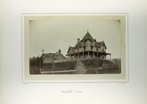 Thumbnail of President's house, Massachusetts Agricultural College