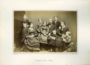 Thumbnail of President William Smith Clark's family