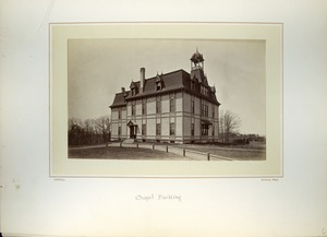 Thumbnail of Chapel Building [i.e. College Hall], Massachusetts Agricultural College
