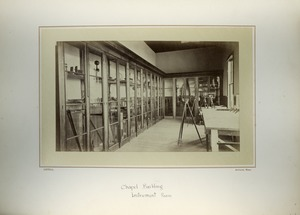 Thumbnail of Chapel Building, Instrument room, Massachusetts Agricultural College
