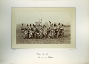 Thumbnail of Class of 1876, Commissioned officers, Massachusetts Agricultural College