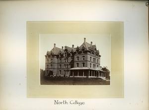 Thumbnail of North College, Massachusetts Agricultural College