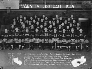 Thumbnail of Football Team 1945