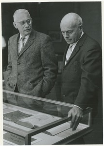 Thumbnail of Rudolph Schuster and Benton Hatch at the Association of American University Presses' Quality Book Show