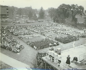 Thumbnail of Seated crowd at the Centennial Convocation