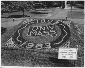 Thumbnail of Planting display for the Centennial on Boston Common